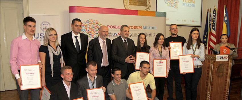 Poslovni forum mladih, Sarajevo 2012