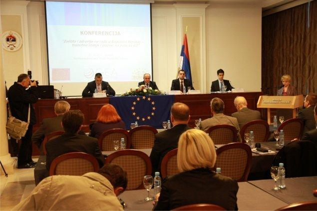 Konferencija Zdravlje i zaštita na radu u Republici Srpskoj - izazovi na putu za EU, Banja Luka 2011