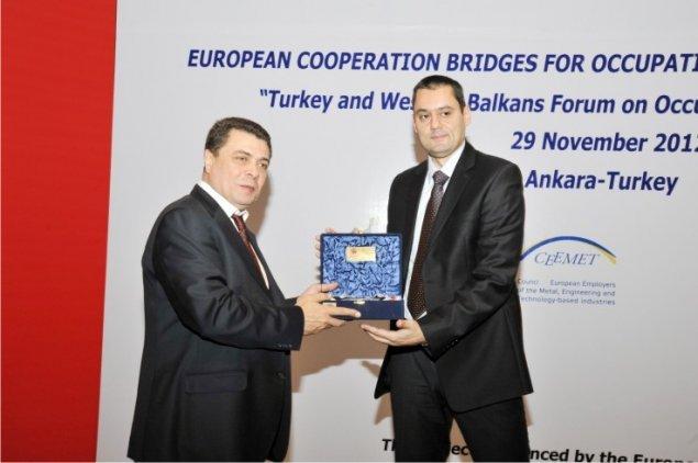 Konferencija povodom završetka projekta ECBOHS, Ankara, 2012