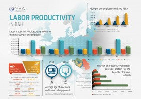 Labor productivity in B&H
