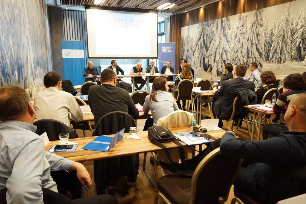 Konferencija Ekonomija u medijima - mediji o ekonomiji, Jahorina 2016