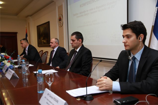 Conference: Occupational Health and Safety in RS - Challenges on the road to the EU, Banja Luka 2011