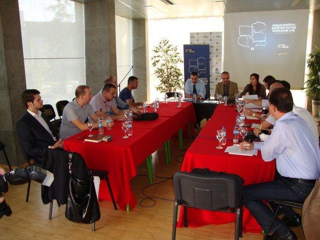 Analysis of the City Budget, Banja Luka 2013